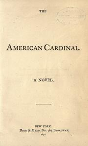 The American cardinal by Leavitt, John McDowell