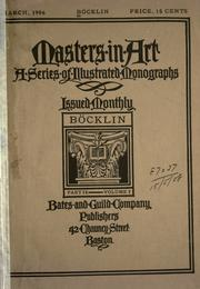 Cover of: Böcklin