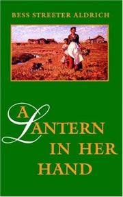 Cover of: A lantern in her hand