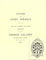 Cover of: Pictures by Josef Israels