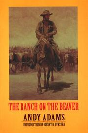 Cover of: Ranch on the Beaver