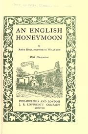 Cover of: An English honeymoon