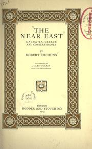 Cover of: The Near East