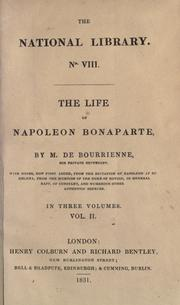 Cover of: The life of Napoléon Bonaparte