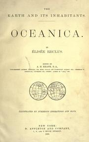 Cover of: Oceanica