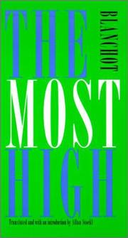 Cover of: The Most High (French Modernist Library)