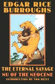 Cover of: The Eternal Savage