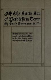 Cover of: The little lad of Bethlehem town