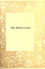 Cover of: The music-lover