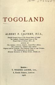 Cover of: Togoland