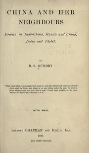 Cover of: China and her neighbours | R. S. Gundry