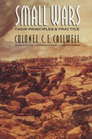 Small Wars by Charles Edward Callwell