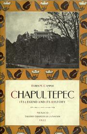 Cover of: Chapultepec | RubГ©n M. Campos