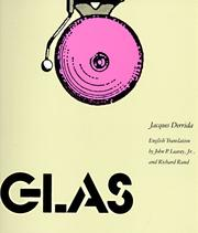 Cover of: Glas | Jacques Derrida