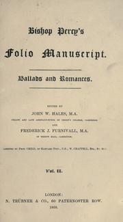 Cover of: Ballads and romances