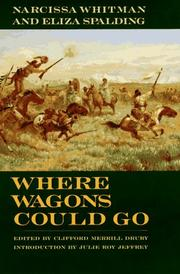 Cover of: Where wagons could go