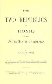 Cover of: The two republics