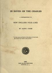 Cover of: In Dover on the Charles