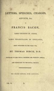 Cover of: The  works of Francis Bacon | Francis Bacon