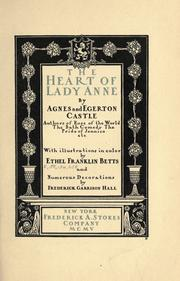 Cover of: The heart of Lady Anne