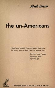 Cover of: The un-Americans