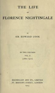 Cover of: The life of Florence Nightingale