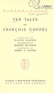 Cover of: Ten tales | François Coppée