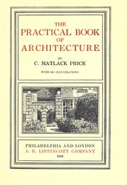 Cover of: The practical book of architecture