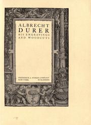 Cover of: Albrecht Dürer