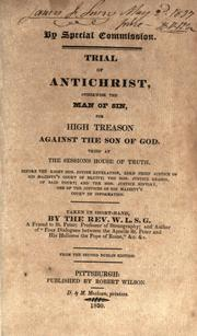 Cover of: Trial of Antichrist