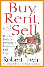 Cover of: Buy, Rent, and Sell