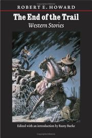 Cover of: The end of the trail: western stories