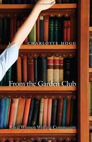 Cover of: From the Garden Club | Charlotte Hogg