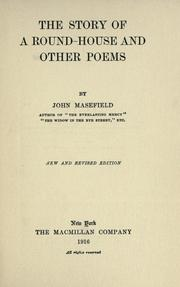Cover of: The story of a round-house, and other poems