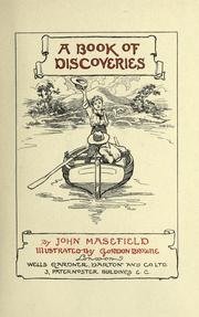 Cover of: A book of discoveries
