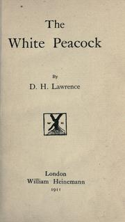 The white peacock by D. H. Lawrence