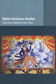 Cover of: Native American Studies (Introducing Ethnic Studies) | Clara Sue Kidwell