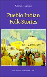 Cover of: Pueblo Indian folk-stories