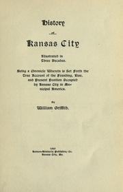 Cover of: History of Kansas City by Griffith, William