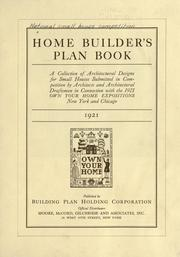 Home builder's plan book