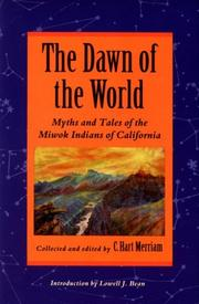 Cover of: The dawn of the world