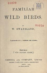 Cover of: Familiar wild birds