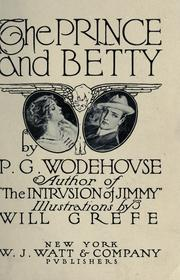 Cover of: The Prince and Betty