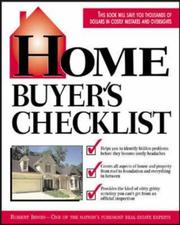 Cover of: Home Buyer's Checklist