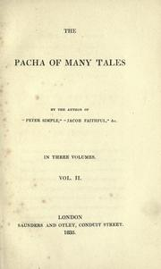 Cover of: The pacha of many tales