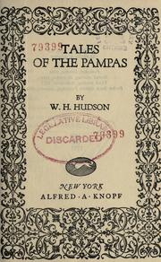 Cover of: Tales of the Pampas