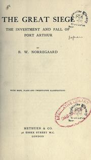 Cover of: The great siege