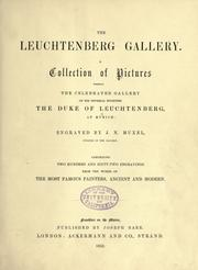 Cover of: The Leuchtenberg gallery