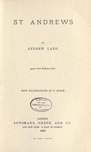 Cover of: St. Andrews
