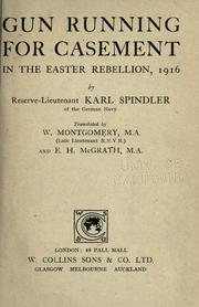 Cover of: Gun running for Casement in the Easter Rebellion, 1916